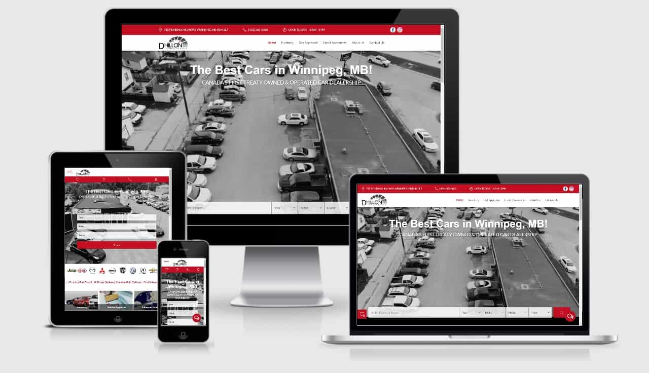 Brand New & Fully Integrated Website for Dhillon Automotive Group Rolled Out!